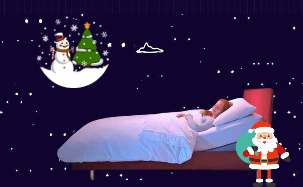 cca9b24e0b Amazon.com  Boys Christmas Pajamas for Girls Santa Tree Sleepwear ...