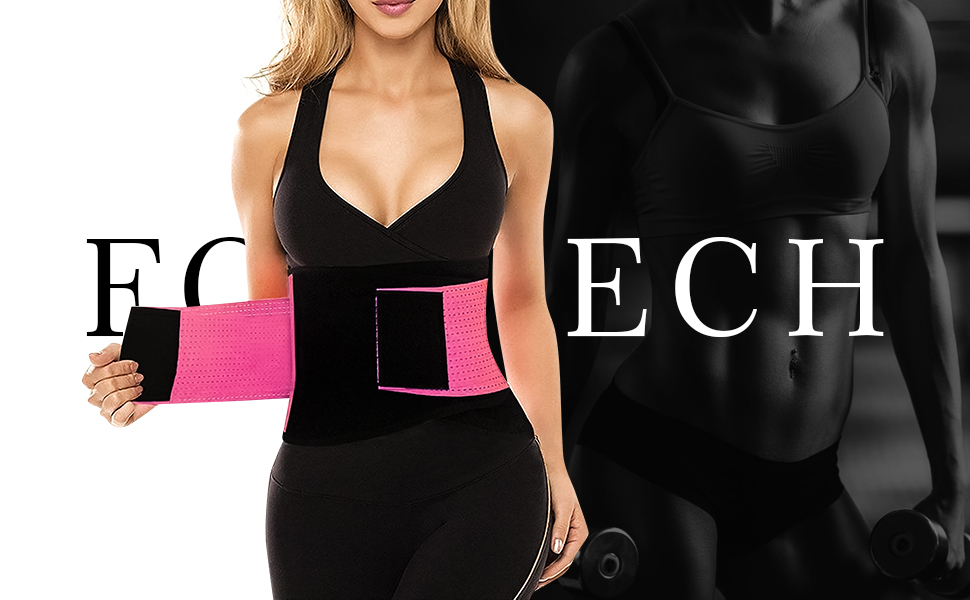 6e789d27c2f Amazon.com  FOUMECH Women s Waist Trainer Belt-Waist Cincher Trimmer ...