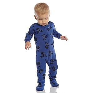 9e9010859016 Amazon.com  Leveret Baby Boys Footed Pajamas Sleeper 100% Cotton ...