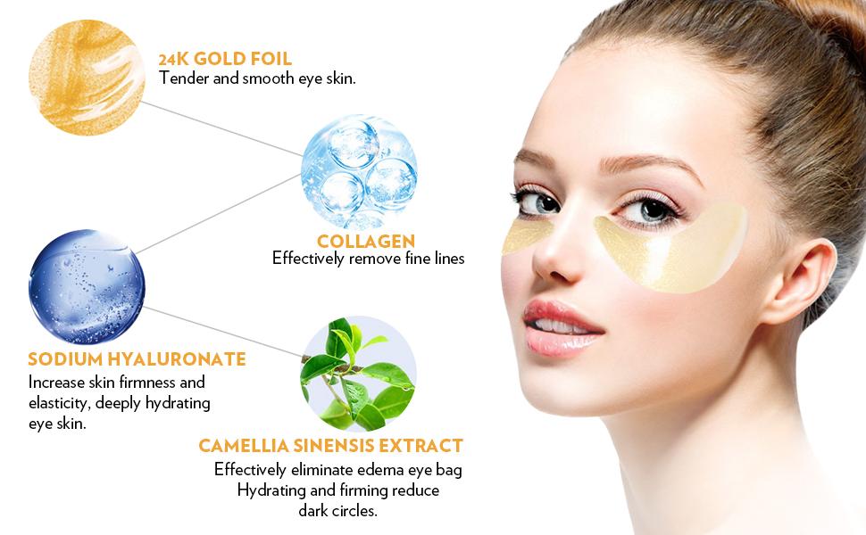 under eye patches under eye bags treatment eye mask for puffy eyes under eye mask eye patch