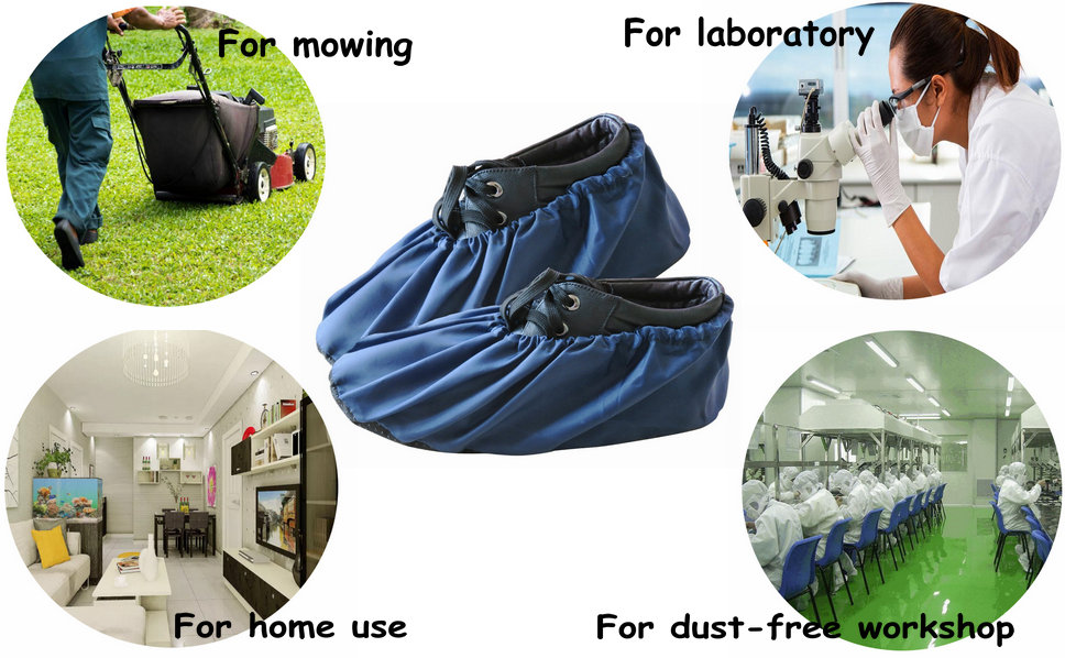 331d591316c DearyHome Premium Washable and Reusable Shoe Covers with Multi-functional  Usage
