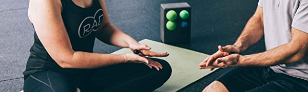 rad rounds, massage balls, myofascial release tool, mobility, yoga tune up balls, massage balls