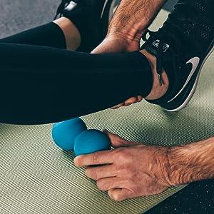 Massage tool, neck exerciser, glute massager, back stretcher, psoas, spine roller deep tissue