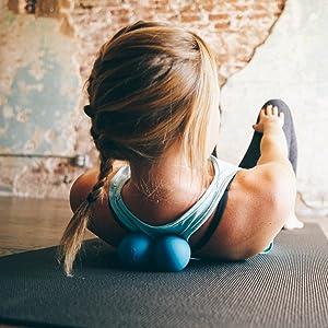 Massage tool, neck exerciser, glute massager, back stretcher, psoas, spine roller