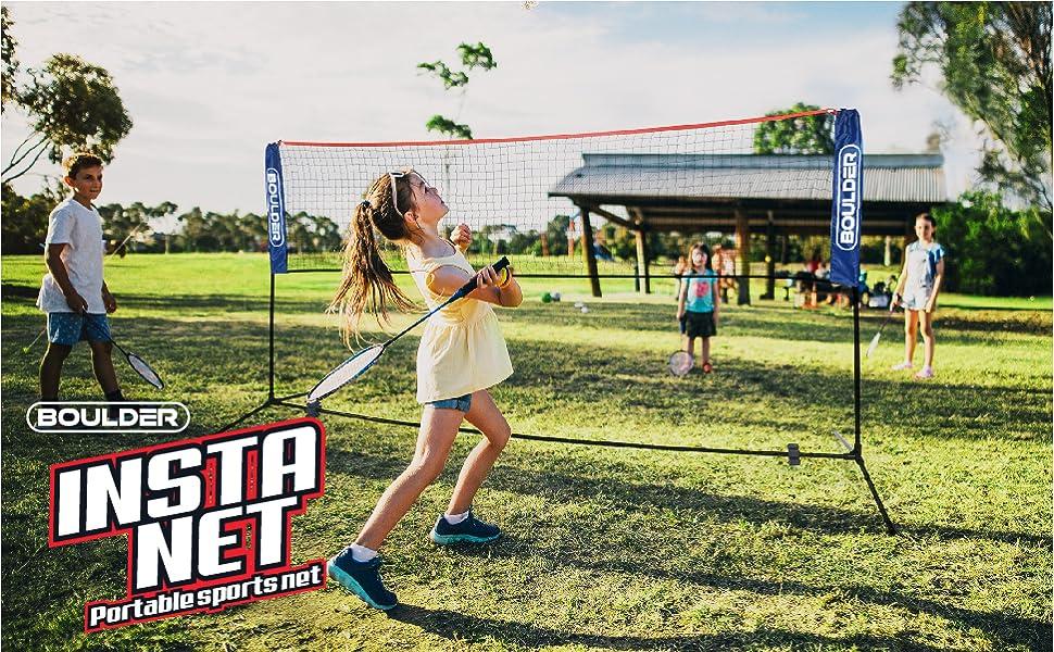 badminton net portable sports