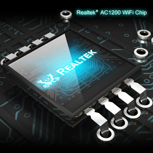 BrosTrend wifi adapter uses latest Realtek 802.11 ac WiFi chip, works 3 times faster than wireless-N