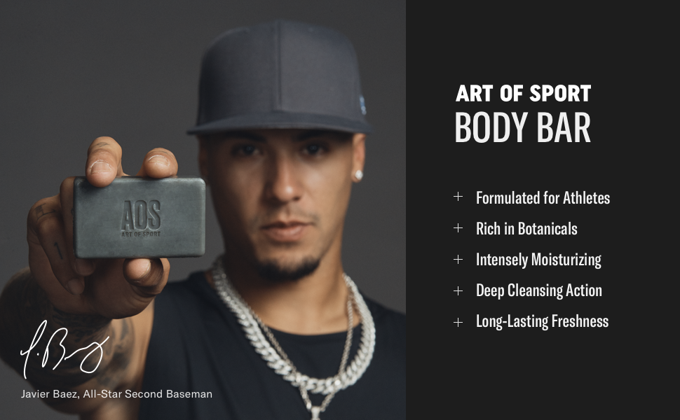 art of sport aos body bar soap