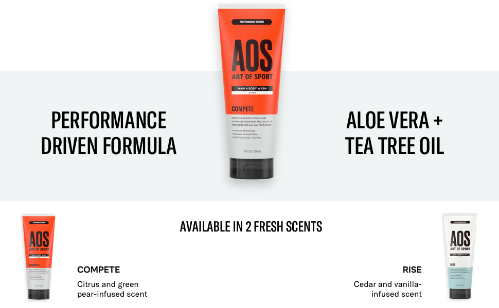 art of sport body and hair wash soap