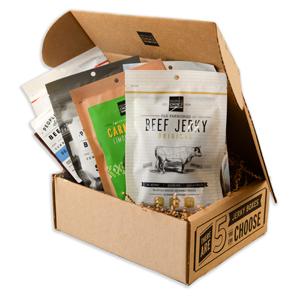 Savory Beef Jerky Gift Box - novariancreations.com