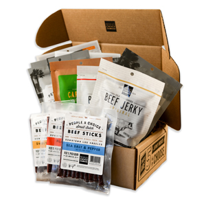 Amazon Com People S Choice Beef Jerky Jerky Box