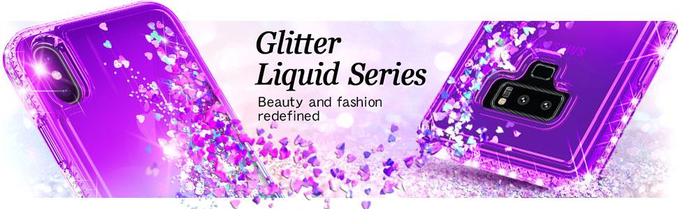 NageBee Galaxy S9 Plus Glitter Liquid Case