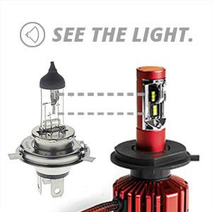xkglow,xk045002,led,headlight,bulb,led,car
