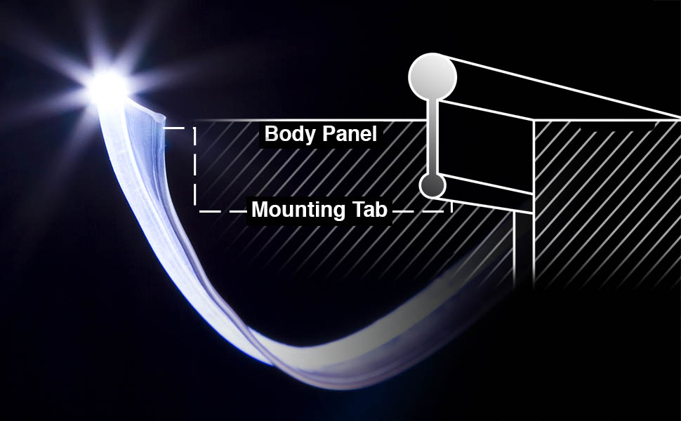 xkglow,led,fiber,optic,led,interior,car,light