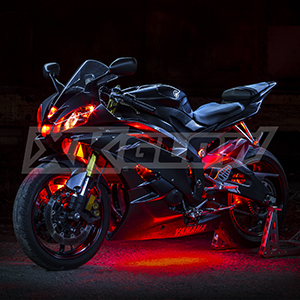 motorcycle,accent,underglow,led,neon,light,engine,remote,control