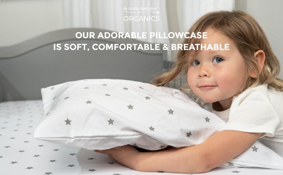 TODDLER PILLOWCASE PILLOW FOR KIDS ORGANIC LOVE BABY GIFT THE BEST PILLOW FOR TODDLER