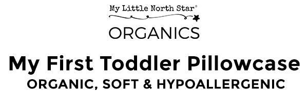 TODDLER PILLOWCASE  FOR KIDS 13''*18'' 14'*19'' LOVE BABY SHOWER ORGANIC NATURAL TODDLER PILLOW
