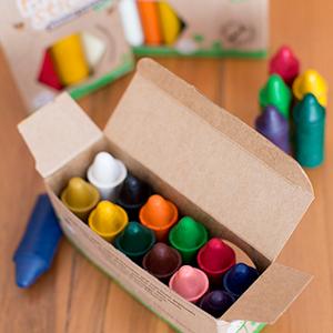 Amazon.com: Crayones de cera de abeja 100% pura. En ...