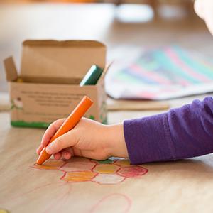 Amazon Com Honeysticks 100 Pure Beeswax Crayons 8