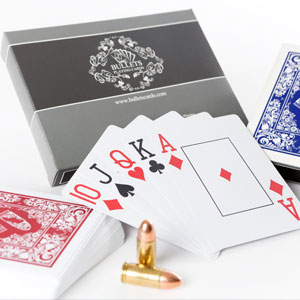Amazon.com: Bullets Playing Cards - Two Decks of Poker Cards ...