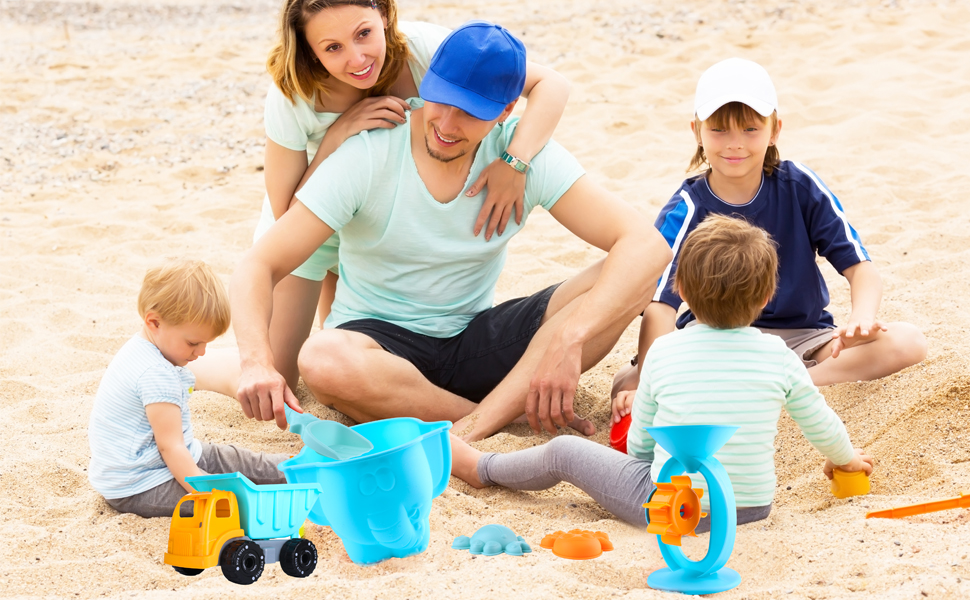 Sand Toys for Kids and Adults