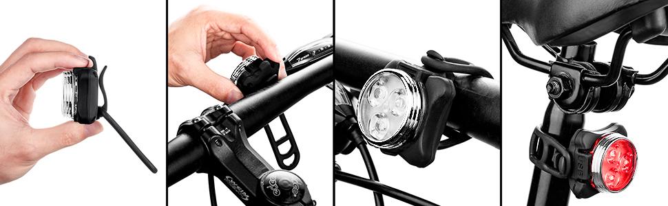 bike light rechargeable   rechargeable rechargeable