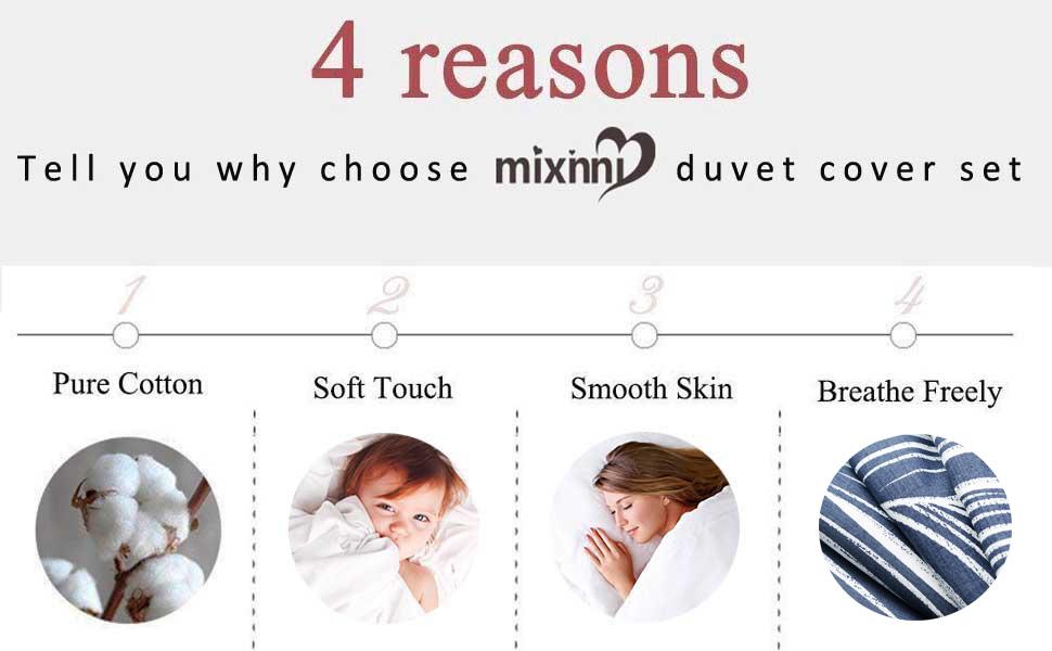 Leave Pattern Duvet Cover Set