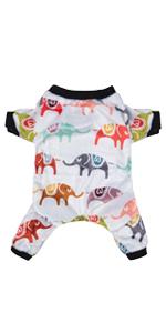 CuteBone elephant dog pajamas