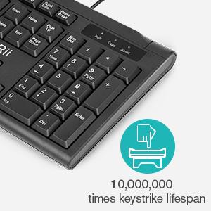 104-Key Wired Keyboard