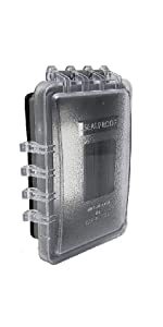 Sealproof 1-Gang Deep Weatherproof In Use Outdoor Outlet ...