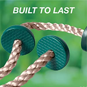 Barcaloo 6.5 Ft Playground Climbing Rope for Swing Set or Jungle Gym – Outdoor Playground Equipment