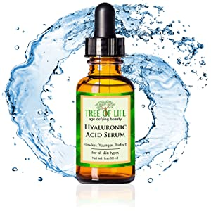 hyaluronic acid serum for skin anti aging wrinkle moisturizer cream for face