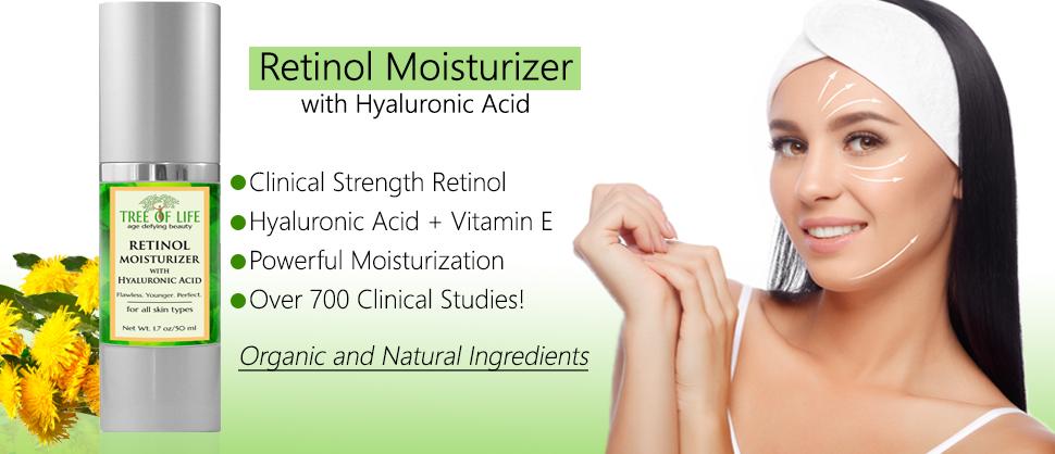 Retinol Moisturizer Face Cream - Clinical Strength Anti Aging Cream 7