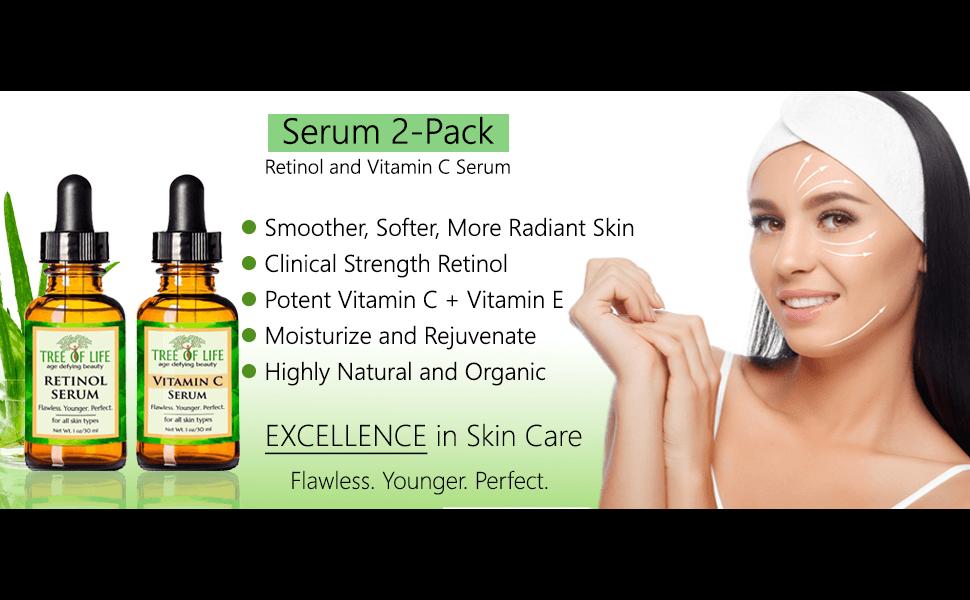 vitamin c serum retinol serum anti aging serum wrinkle cream for facial skin care facial moisturizer