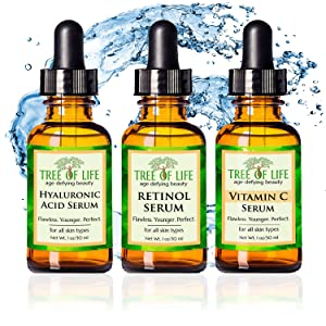 vitamin c serum retinol cream hyaluronic acid moisturizer anti aging wrinkle cream face serum eye