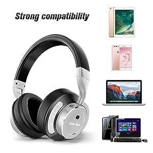 Amazon.com: Active Noise Cancelling Bluetooth Headphones