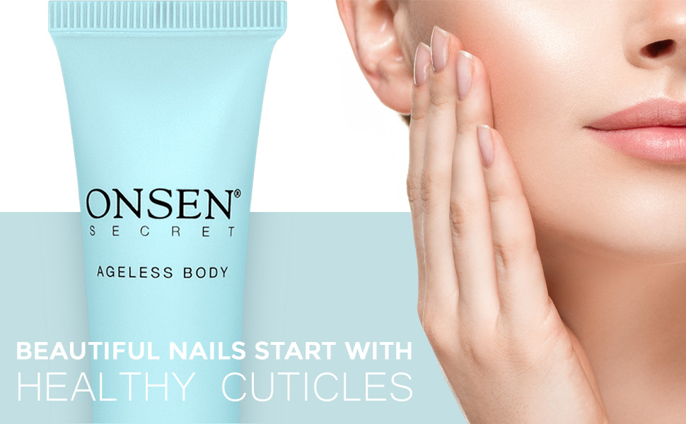 Beautiful nails starts with Onsen Secret