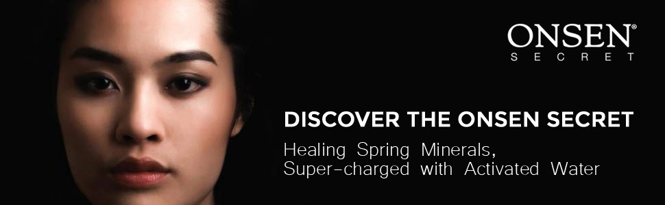 healing spring minerals super-charged with activated water