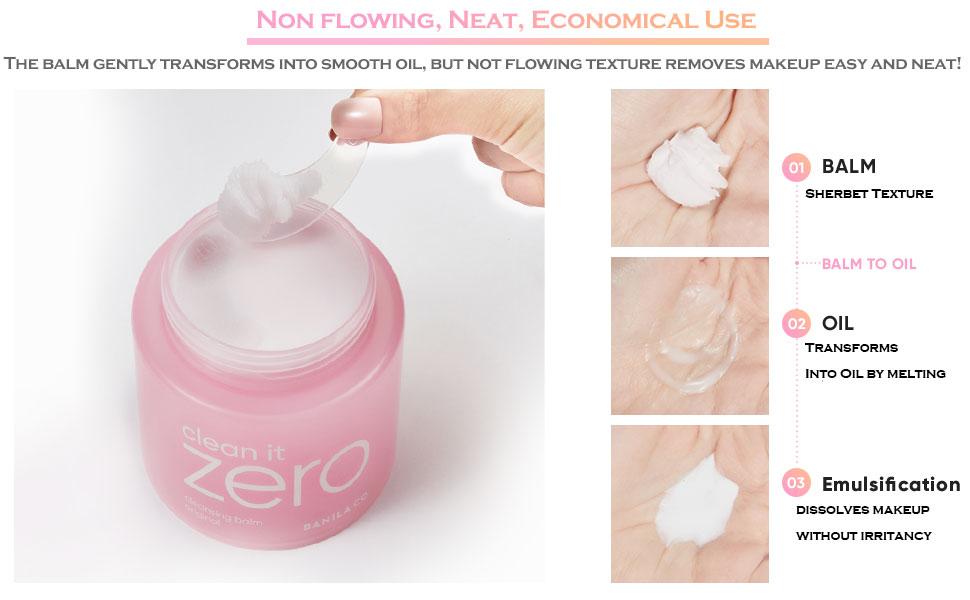 zero makeup remover, banila co, banila co clean it zero, zero cleansing balm