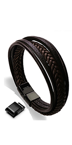 Brown Leather Bracelet