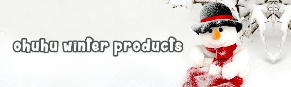 ohuhu winter products snow