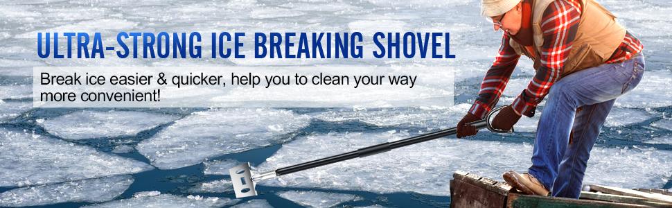 ohuhu ice breaking shovel