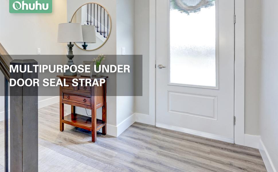 Ohuhu Door Seal, Energy Efficient Weather Stripping, Under Door Noise  Stopper, Soundproofing Door Bottom Seal Strip