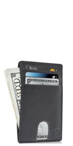 Slim Minimalist Card Holder Wallets For Men amp; Women Mens Wallet RFID Blocking Gifts For Him