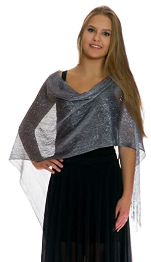 88b05f539fbca Drape the scarf over the front of your body and shoulders to wear as a cover -up.