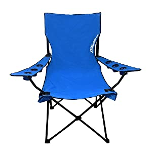 Detailed Attractive Design. COLLAPSIBLE AND COMPACT! Both Arm Rests With  Three Cup Holders Each And Back Rest Are Collapsible. This Large Chair  Frame Is ...