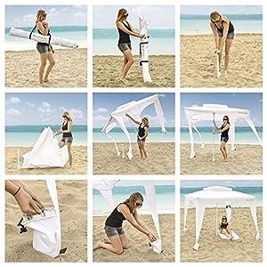 Amazon Com Easygo Cabana 6 X 6 Beach Amp Sports