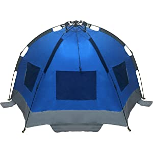 Amazon Com Easygo Shelter Instant Beach Umbrella Tent