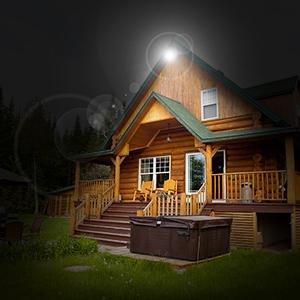 Qimh Dusk To Dawn Led Outdoor Barn Light 27w Include