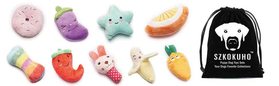 Dog Squeaky Plush Toys