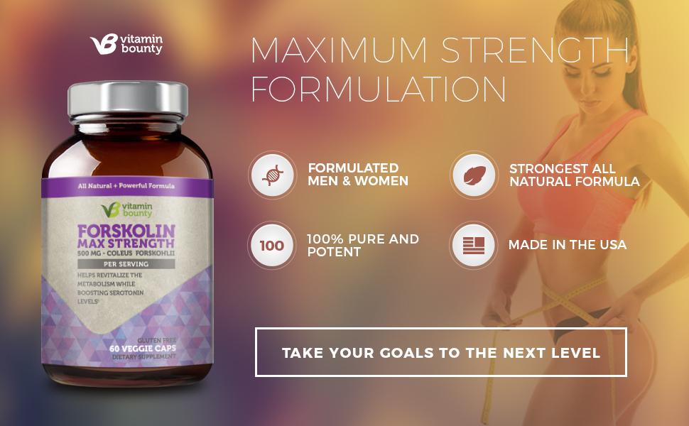 Vitamin Bounty Maximum Strength Forskolin